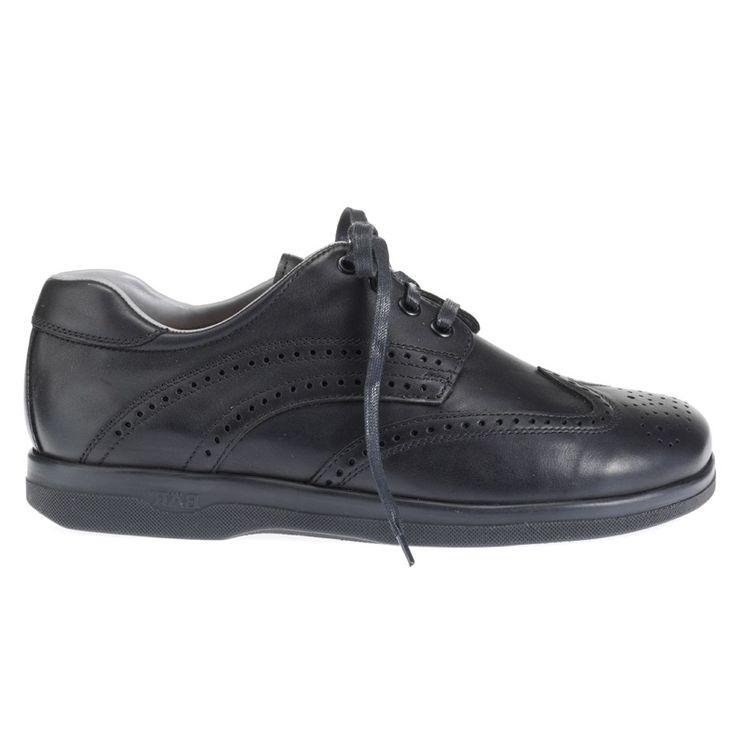 110ae5977fa CLASSICO NOIR - Chaussures confort à lacets chics et élégantes