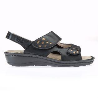 Une Noir Mesure Confort Sina Sur Sandale De rCxBdWoe
