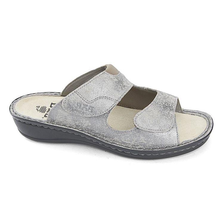 47ed4ff047a2d2 RICA GRIS - Mules pour les pieds sensibles | JB Rodde