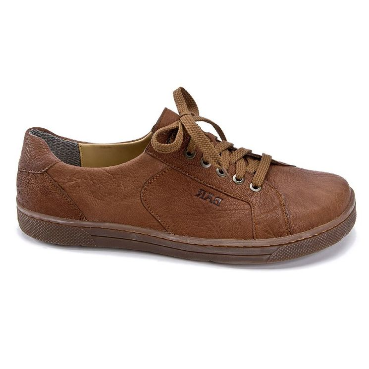 832b8580fe0 ROADRUNNER BRUN - Chaussures confort à lacets en cuir rare