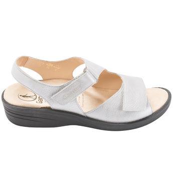 0b8ec7aa33e4d7 -20% SYLVIA GRIS - Sandales pieds sensibles élégantes
