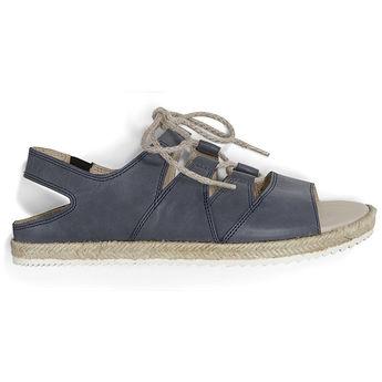 867e003de5aebc -20% SOFIE BLEU FONCE - Sandales originales pour pieds sensibles