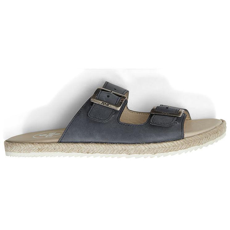 9b162fa28551b4 SUSI BLEU FONCE - Mules originales pour pieds sensibles | JB Rodde